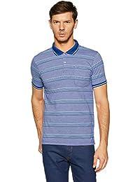 Spiritus by Pantaloons Men's Striped Regular Fit T-Shirt