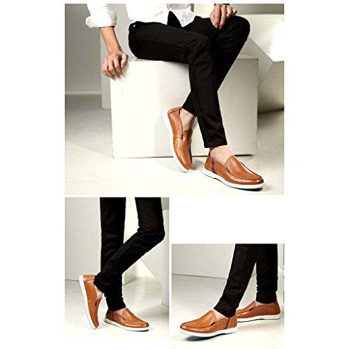 ZXCV Scarpe all'aperto Scarpe casual uomo moda semplice e solido Marrone