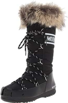 Moon Boot Tecnica W.e. Monaco-w, Chaussures de Gymnastique Femme - - Noir, 387 EU