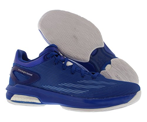 Adidas Sm Crazylight Boost Low Basketball Chaussures Taille 12 Blue/White