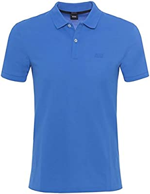 BOSS Hugo Boss Camisa de Polo regular Fit Pallas Azul Claro