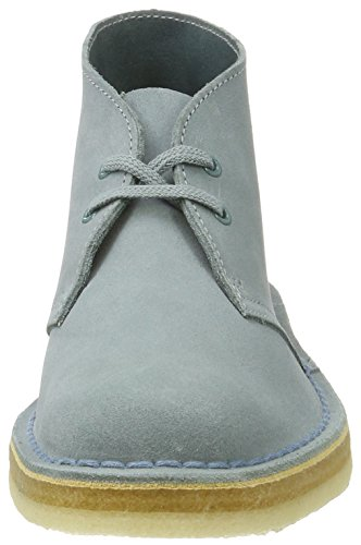 Clarks Originals 261227424, Polacchine Donna Blu (Grey/Blue)