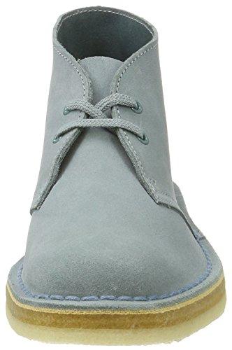 Clarks Originals 261227424, Desert Boots Femme Bleu (Grey/Blue)