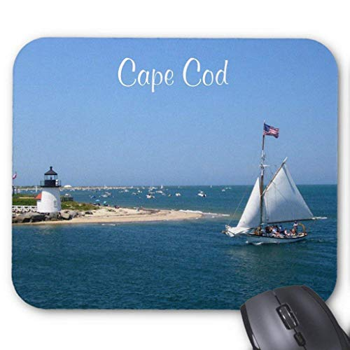 Cape Cod Strände (ASKSSD Computer Accessories Anti-Friction Wristband Nantucket Cape Cod Lighthouse Harbor Mousepad)