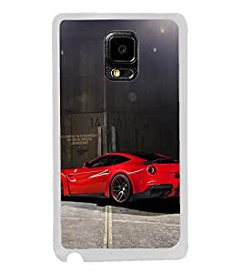 Racing Car 2D Hard Polycarbonate Designer Back Case Cover for Samsung Galaxy Note Edge :: Samsung Galaxy Note Edge N915FY N915A N915T N915K/N915L/N915S N915G N915D