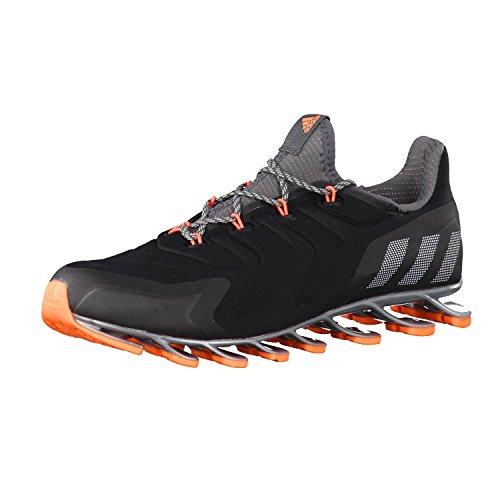 adidas Damen Laufschuhe Springblade Nanaya Core Black/Granite/Glow Orange s14 40