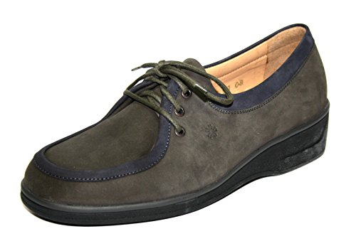 Ganter Ellen Vario Comfort 78813scarpe scarpe da donna Grigio (moor-ocean)