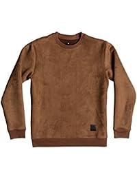 DC Shoes Atchison - Sweatshirt imitation suède pour Homme EDYFT03299