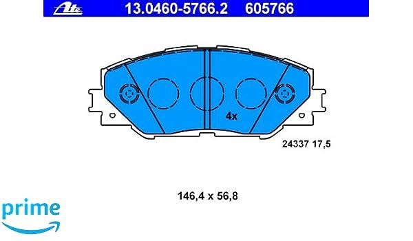 ATE 13.0460-5801.2 Bremsbelagsatz Scheibenbremse