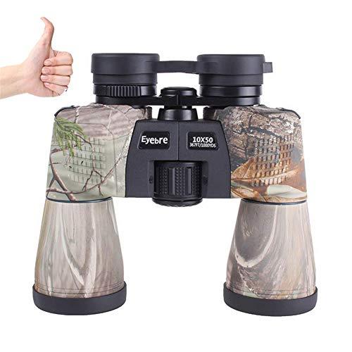 PNCS Fernglas 10x50 High-End-Handheld-Camouflage-Fernglas-Beobachtungsspiegel FüR Outdoor-Teleskope
