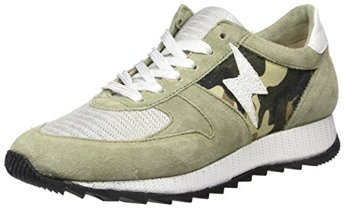 Mjus 878104-0302, Sneakers basses femme Mehrfarbig (Salvia Fossile Militare)