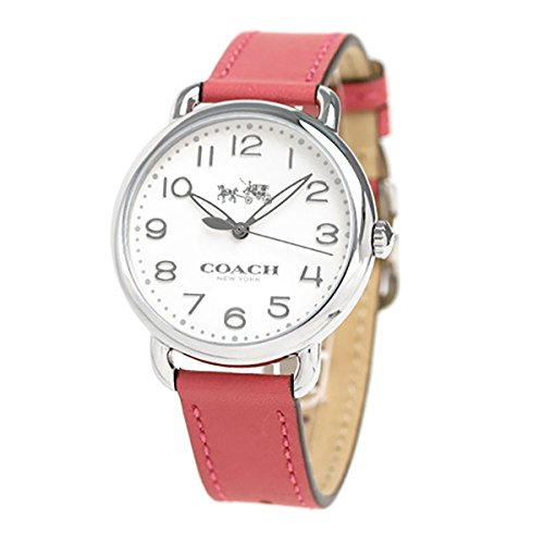 White Dial Women's Analog Casual Quartz Coach Watch Delancey 14502717
