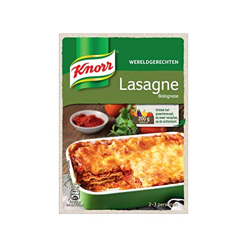 Lasagna Bolognese Spicemix | Knorr | World Dish Lasagne Bolognese | Total Weight 191 Grams