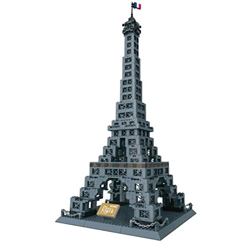 WANGE Torre Eiffel. Modelo Arquitectura armar bloques