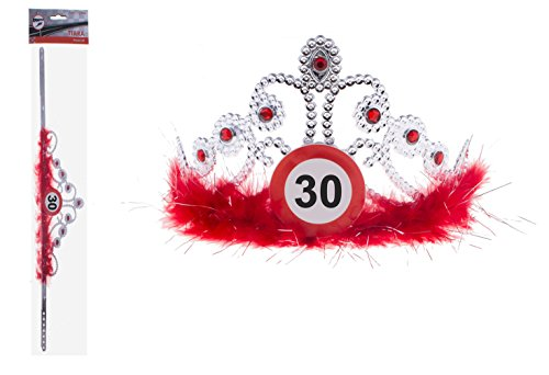 Kostüme 30 (Krone Geburtstag Verkehrszeichen 30)