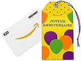 Carte cadeau Amazon.fr - €30 - Dans une petite enveloppe anniversaire