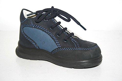 Jela 81074 Kinder Jungs Mädchen Schuhe Stiefeletten Blau (Atlantic)