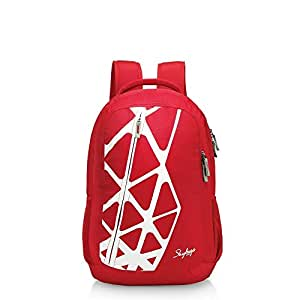 Skybags Greek 38 Ltrs Laptop Backpack Red