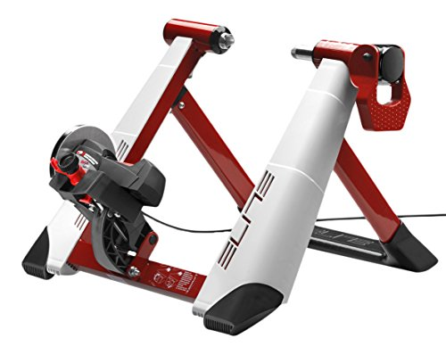 Elite Rollentrainer Novo Mag Speed 111303, weiß/rot,