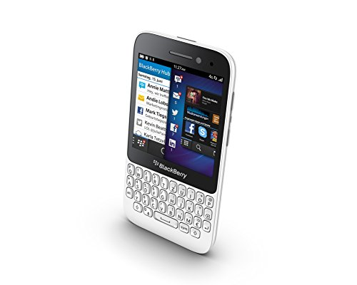 Blackberry Q5 SQR100-2 - M  vil libre Blackberry  pantalla 3 1   c  mara 5 Mp  8 GB  1 2 GHz  2 GB RAM   blanco  importado