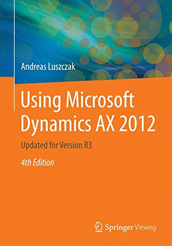 PDF] [EBook] Using Microsoft Dynamics AX 2012: Updated for Version