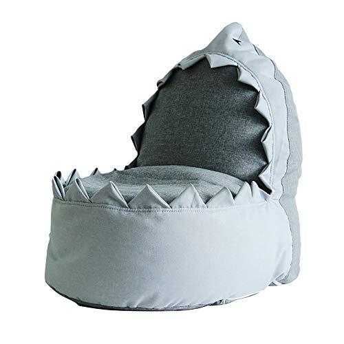 Faules Sitzsofa der Kinder niedliches kleines Tier - Haifischbohnensackgewebe - Kleiner Tiersitz - Spaßspielzeug