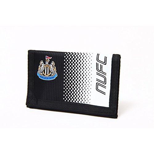 Newcastle Utd FC de football noir blanc design fondu des pièces de monnaie de carte de portefeuille comptant officielle
