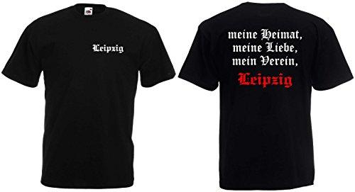 world-of-shirt Herren T-Shirt Leipzig Ultras meine Heimat mein Verein|XL