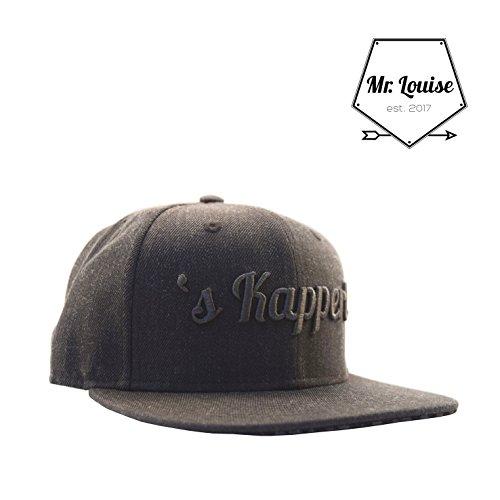 72bab453bd523d Snapback Cap inchess Kapperl inches von Mr. Louise - Moderne Cap mit  hochwertigem 3D Stick