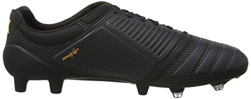 Umbro Ux Accuro Pro Hg, Chaussures de Football Homme Noir (Eqf Black/Orange Pop/Carbon)