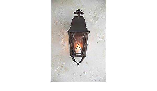 Lampada Vintage Da Parete : Jeanne d arc living vintage shabby u2013 lanterna parete lanterna luce