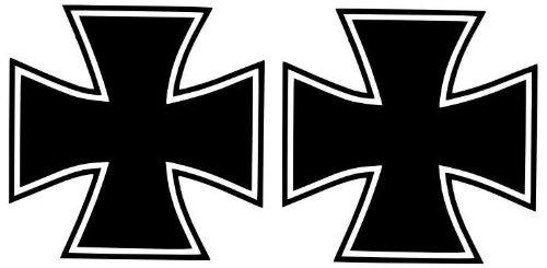 Klodeckel-Aufkleber Eisernes Kreuz mit Schriftzug SETZEN Aufkleber f/ür den Klodeckel 2016 Fun Spass Lustig