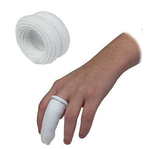 lot-de-10qualicare-first-aid-bandage-tubulaire-doigt-rouleau-bobs-lit-buddies-pansements-blanc