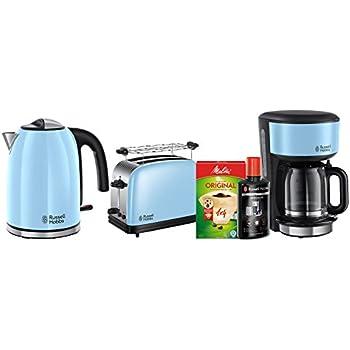 russell hobbs fr hst ck set 3 tlg kaffeemaschine wasserkocher toaster retro. Black Bedroom Furniture Sets. Home Design Ideas