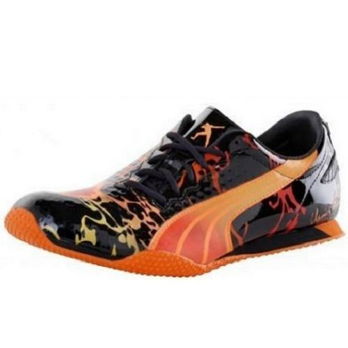 Puma Bolt (Puma Street Yaam Lava Usain Bolt Limited Edition Sneaker schwarz/bunt, Schuhgröße:EUR 42)