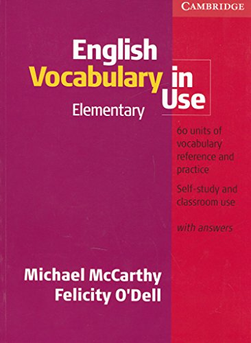 English Vocabulary In Use. Elementary Level (+ Key): Elementary with Answers