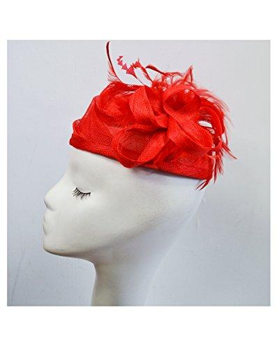 Exceptional Products - Bandeau - Femme Taille Unique Rouge