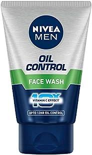 Nivea Men Oil Control 10x Face Wash, 100g
