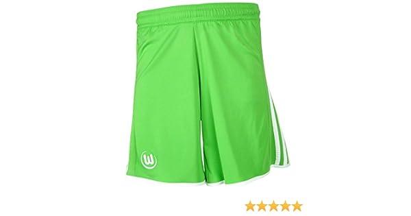 VfL Wolfsburg Shorts KIDS Dribbling grasgr/ün kurze Hose Gr/ö/ße 116-152