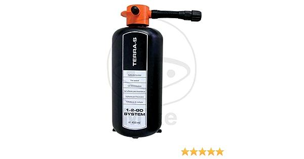 Terra S Reifendichtgel 450ml Ersatzflasche Für Reifenpannenset 1 2 Go Grundpreis Je Liter 62 11 Euro Auto