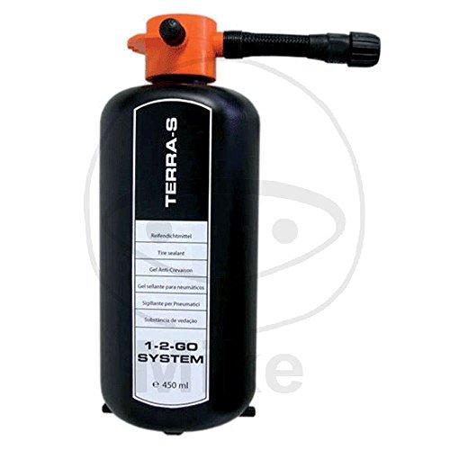 """Preisvergleich Produktbild TERRA-S REIFENDICHTGEL 450ml - Ersatzflasche für Reifenpannenset """"1-2-Go"""" (Grundpreis je Liter: 62,11 EURO)"""