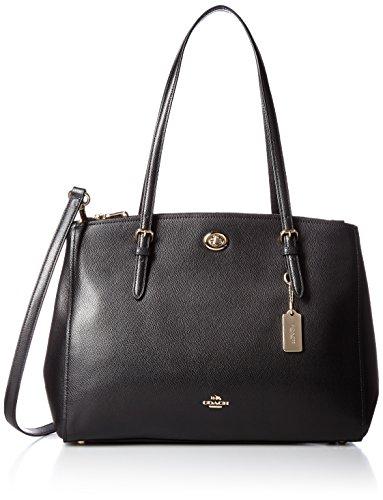 coach-womens-turnlock-carryall-shoulder-bag-black-schwarz-li-black