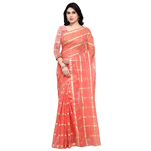 Rajnandini Cotton Saree (Joplsrs1075E_Peach)