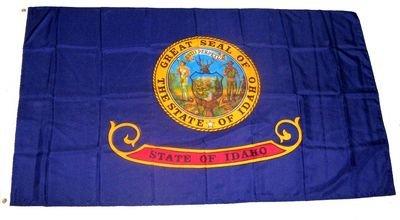 Fahne / Flagge USA Idaho NEU 90 x 150 cm Flaggen