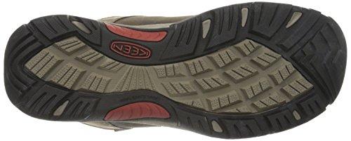 Keen Revel Iii, Chaussures de Randonnée Hautes Homme, Gris Marron (Cascade Brown/Bossa Nova)
