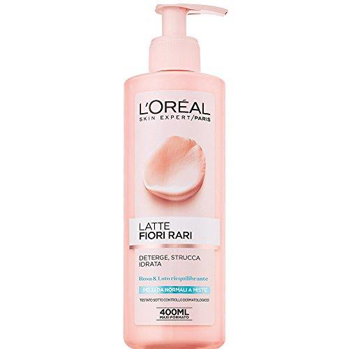 Struccante L'Oréal Paris,per pelli normali-miste, fiori rari, 400 ml