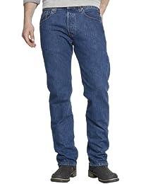 Levi's Herren Jeans 501-00501 Straight Fit Blue Lane