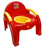 #6: La Corsa Baby Potty Training Seat Cum Chair | Toddler Potty Training (Red)