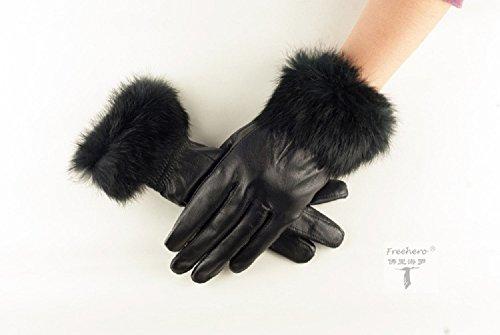 Damen Lederhandschuhe – Fingerhandschuhe