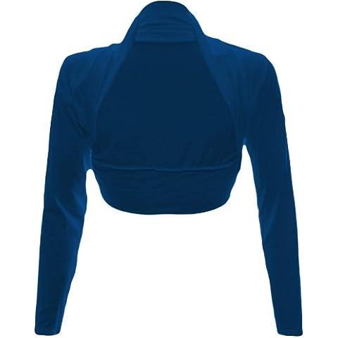 Boleros encogimientos de hombros de esquí para mujer de manga larga para Tops para mujer camiseta de Toreras - FUSTA 14 en la parte superior y 8 para